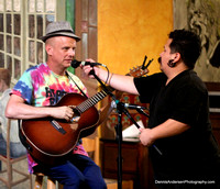 HAPPY RON'S 50th BIRTHDAY SHOW @ Rebecca's Coffeehouse 8-15-14