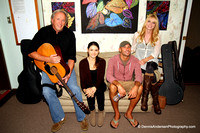 DIXIE MAXWELL, CHAD TAGGART, CHRIS AVETTA & BILL HARTWELL @ Songwriters Acoustic Nights @ Swedenborg