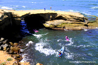 SUNSET CLIFFS KAYAKING 4-23-17
