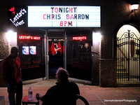 CHRIS BARRON @ Lestat's 10-25-18