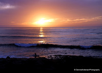 SUNSET CLIFFS SUNSET 2-18-14