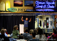 OCEAN BEACH ELEMENTARY & STEVEN RILEY @ Java Joe's OB 12-04-12