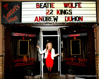 ANDREW DUHON, 22 KINGS & BEATIE WOLFE @ Lestat's West 9-19-13